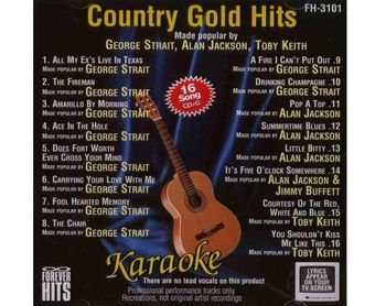 COUNTRY GOLD HITS (CD+G)