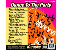 Dance To The Party CD+G - Award Series (CD+G)